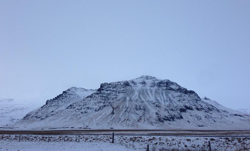 Near the Eyjafjallajökull Volcano